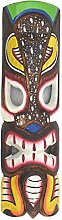Tiki Wandmaske 50cm im Hawaii Look Holzmaske