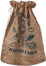 Tildenet VS15 Nikolaussack Jute und Gemüse, 15 kg
