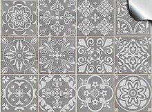 Tile Style Decals 24x Mosaik Wandfliese Aufkleber