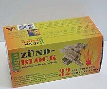 TILL Öko Zündblöcke (32 Stück) Feueranzünder