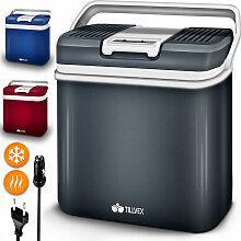 tillvex Kühlbox elektrisch 24L Rot  