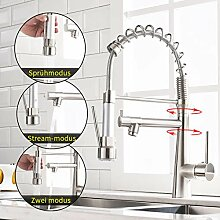 TIMACO Küchenarmatur mit Spiralfeder, Wasserhahn