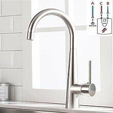 TIMACO Niederdruck Küchenarmatur Wasserhahn