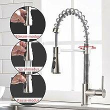 TIMACO Wasserhahn Küche ausziehbar Armatur