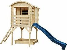 TIMBELA M501F Kleines Haus mit Terrasse -