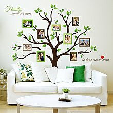 Timber Artbox Large Family Tree Photo Frames Wall