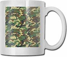 Timdle Porzellan Kaffeetasse Camouflage Med