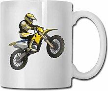 Timdle Porzellan Kaffeetasse Motocross People