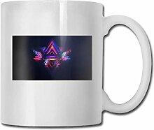Timdle Porzellan Kaffeetasse Triangle Galaxy Farbe