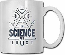 Timdle Porzellan Kaffeetasse Wissenschaft Wir