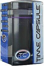 Time Capsule groß, schwarz, luftdicht, wasserdicht Vorratsdose Aerospace Technologien–Raw