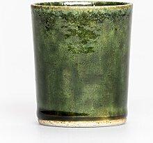 Time & Style Grün Oribe Glasierte Keramikbecher