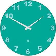 TimelessTimeDesign TTD Uhr bunt Glas 40, türkis,