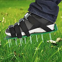 TIMESETL Rasenlüfter Schuhe mit 4 Verstellbare