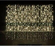 Timesok LED-Vorhang-Schnur beleuchtet