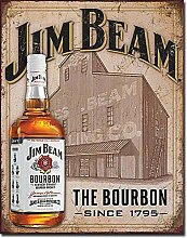 Tin Sign Nostalgie-Blechschild - Jim Beam - Still