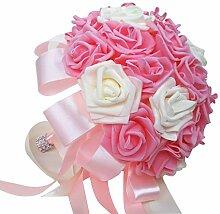 Tinaa Brautstrauß Handgemachter Blumenstrauß