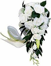 Tinaa Brautstrauß Hochzeit Wasserfall Künstlich