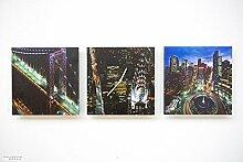 Tinas Collection 3tlg Wanduhren Set, Uhr + Zwei