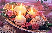 Tinas Collection LED Bild mit dem Motiv -Kerzen-,