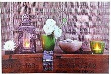 Tinas Collection LED Bild mit dem Motiv -Laterne-,