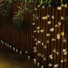 Ting-Times Dekoration Solar Lichterkette 23ft 50