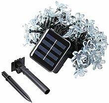 Ting-Times Solar Lichterkette 23ft 50 LEDs String