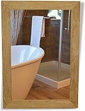 Tinggal Badspiegel Maria Teak Holz Wandspiegel