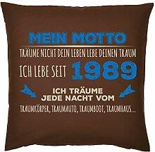 Tini - Shirts 30-1989 - Sprüche-Kissen zum 30