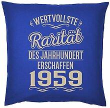 Tini - Shirts 60-1959 - Sprüche-Kissen zum 60