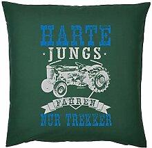 Tini - Shirts Bauer/Landwirt/Traktor Deko-Kissen -