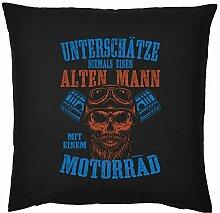 Tini - Shirts Biker-Motiv Sprüche Kissen -