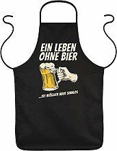 Tini - Shirts Grill-Schürze Bier Sprüche -