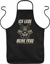 Tini - Shirts Grill-Schürze Biker Sprüche -