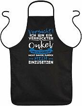 Tini - Shirts Koch-Schürze Onkel - Sprüche