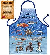 Tini - Shirts Mediterrane Kochschürze für