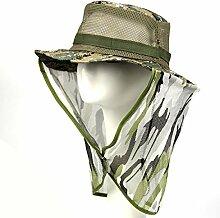 TININNA Moskitonetz Insektenschutz Insekt Schutz Moskito Kopfschutz mit Flap Nackenschutz Abdeckung
