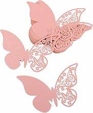 Tinksky Schmetterling Stil Hochzeit Tisch Papier