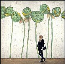 Tinte Lotus Pitch Wandtuch Wohnzimmer Schlafzimmer