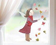 TinyFoxes Fensterbild Herbstfee - Zauberhafte