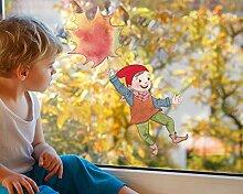 TinyFoxes KG Fensterbild Herbstwichtel