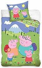 TipTrade Peppa Pig Kinderbettwäsche PP195003