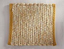 Tisca GRÖNLAND SKY handgewebter handweb teppich