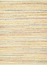 Tisca Teppich Andorra handgewebt Multicolor (140 x