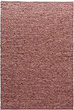 TISCA Teppich aus Schurwolle LIV rot (Verschiedene