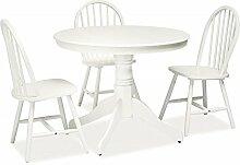 Tisch 'Windsor' Holztisch 100x100 Landhaus Shabby