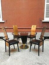 Tisch & 4 Stühle von Pierre Cardin, 1979