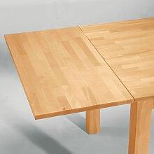 Tisch Ansteckplatte aus Buche Massivholz