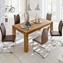 Tisch aus Wildeiche Massivholz 3 m ausziehbar