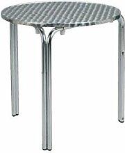 Tisch bar für Außen Aluminium mho1032005 Diam 60cm